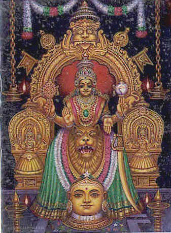 கொல்லூர்  மூகாம்பிகை Mookamb