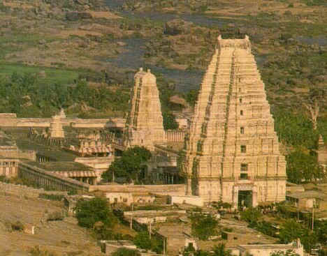 Image result for hampi gopuram